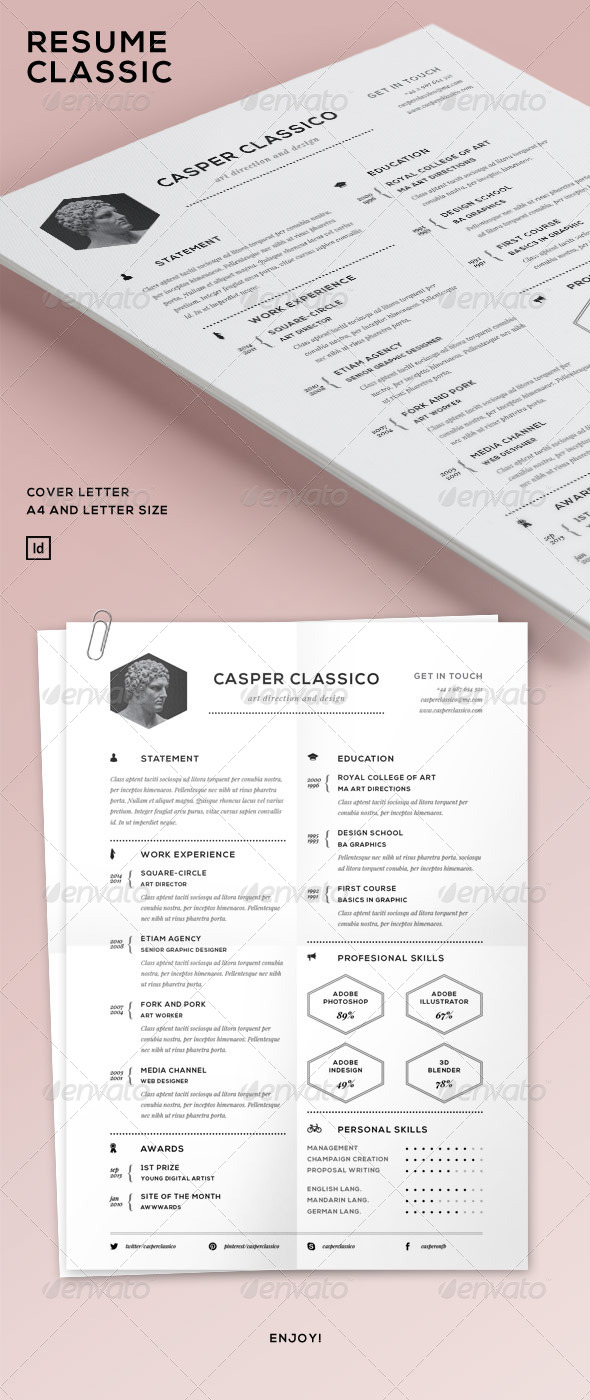 Resume Classic - Resumes Stationery