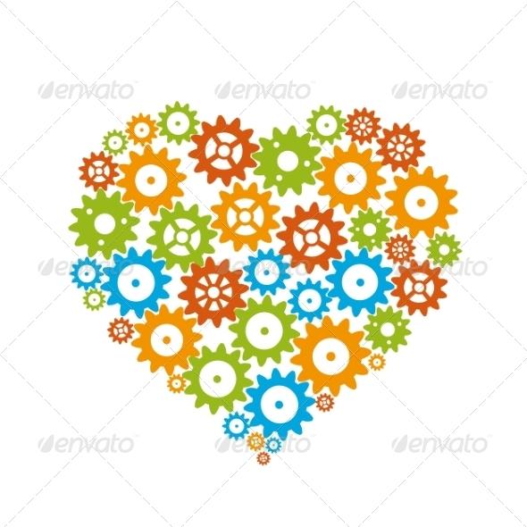Gear Heart - Valentines Seasons/Holidays
