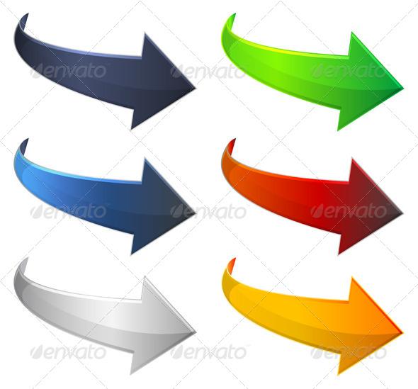 Arrow Icons - Technology Conceptual