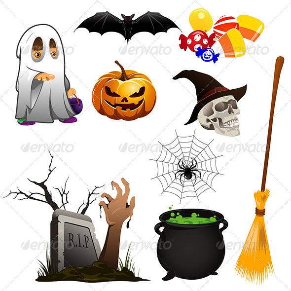 Halloween Icons - Halloween Seasons/Holidays