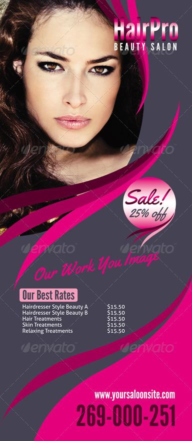 Beauty Salon Banner By Inddesigner