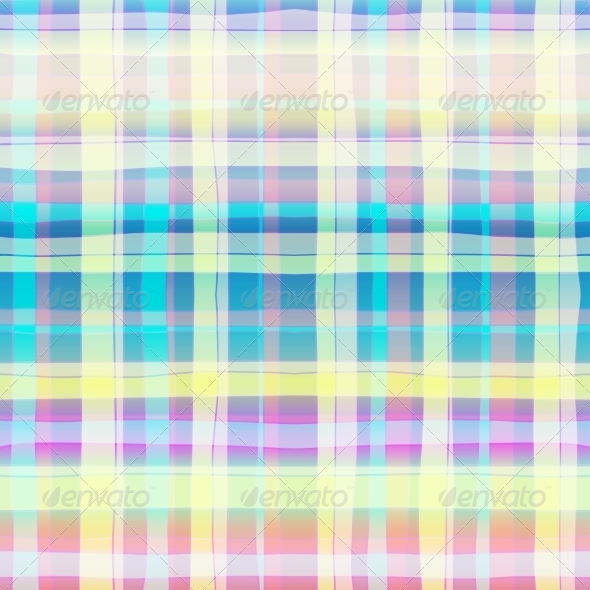 Seamless Abstract Scottish Plaid - Backgrounds Decorative
