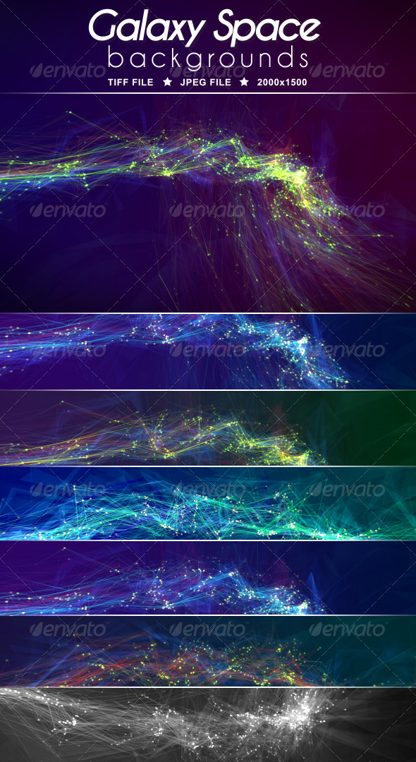 Galaxy Space Background - Abstract Backgrounds