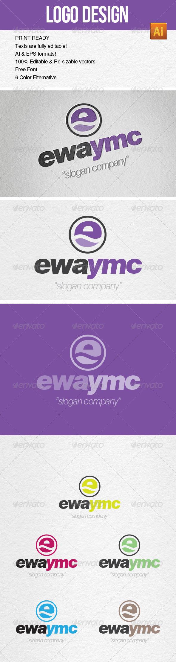 Logo Template YMC Design - Letters Logo Templates