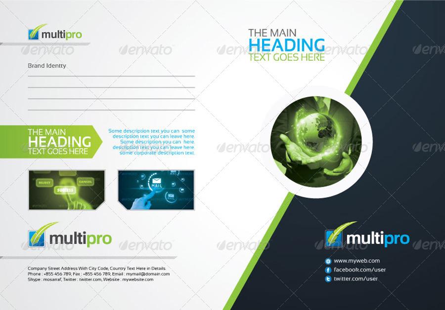 Multi Pro Corporate Presentation Folder by artBeta | GraphicRiver