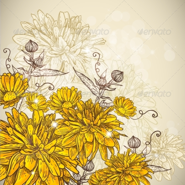 Floral Background - Patterns Decorative