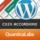 CSS3 Accordions For WordPress