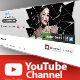 Youtube Channel Banner V1 - GraphicRiver Item for Sale