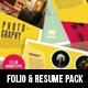 Portfolio & Resume Creative Pack - GraphicRiver Item for Sale