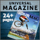 24 Page Universal Magazine A4+Letter - GraphicRiver Item for Sale