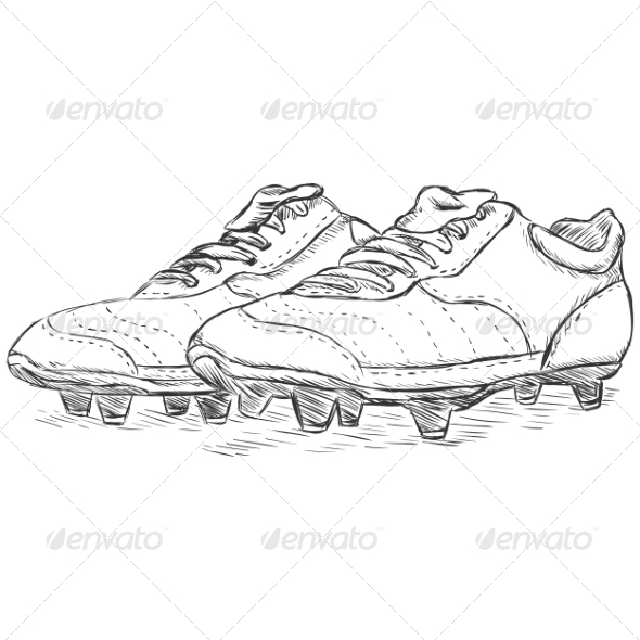 Football Boots - Sports/Activity Conceptual