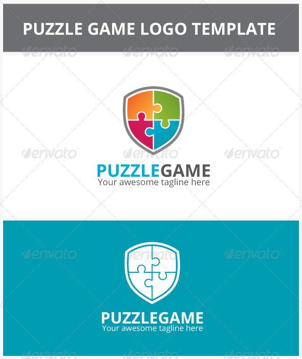 Puzzle Game Logo - Symbols Logo Templates