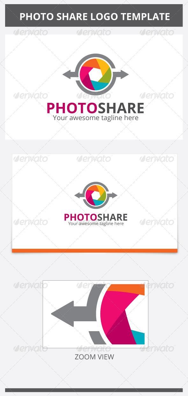 Photo Share Logo - Symbols Logo Templates