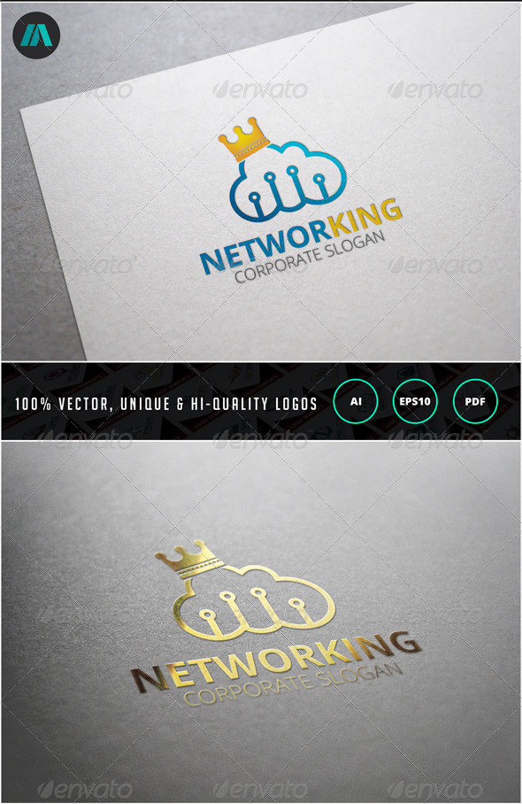 Networking Logo Template - Objects Logo Templates