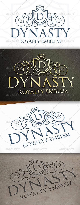 Dynasty Logo - Crests Logo Templates