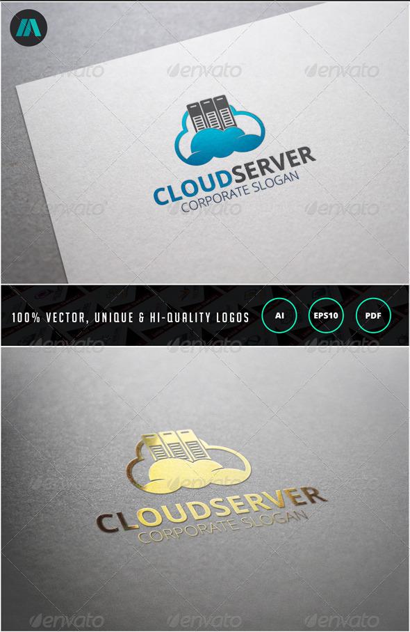 Cloud Server Logo Template - Nature Logo Templates