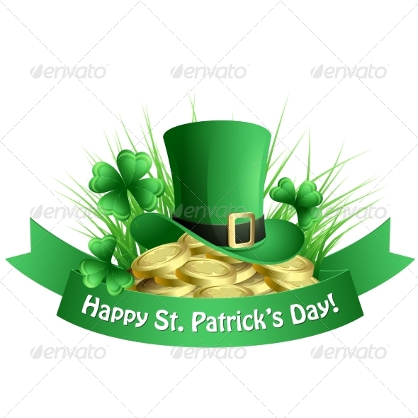 Vector Illustration St. Patrick's Background - Miscellaneous Seasons/Holidays