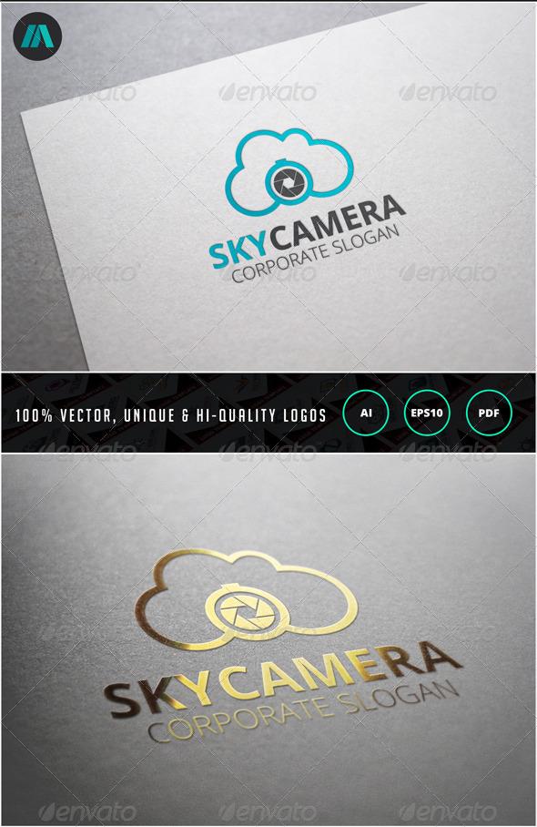 Sky Camera Logo Template - Objects Logo Templates
