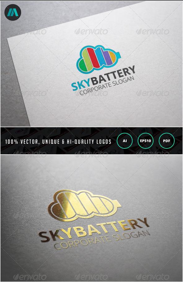 Sky Batter Logo Template - Nature Logo Templates
