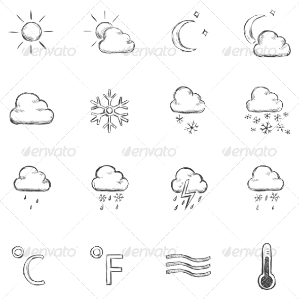 Weather Icons - Miscellaneous Vectors