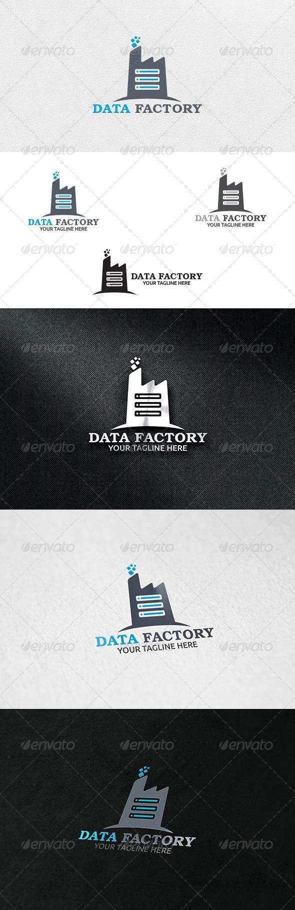 Data Factory - Logo Template - Buildings Logo Templates