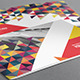 Colorful Triangles Brochure - GraphicRiver Item for Sale