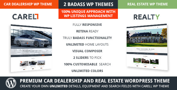 Carell – Real Estate & Car Dealership WP Theme
