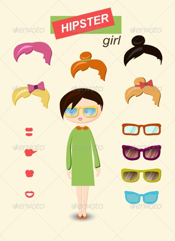 Girl Kit - People Characters