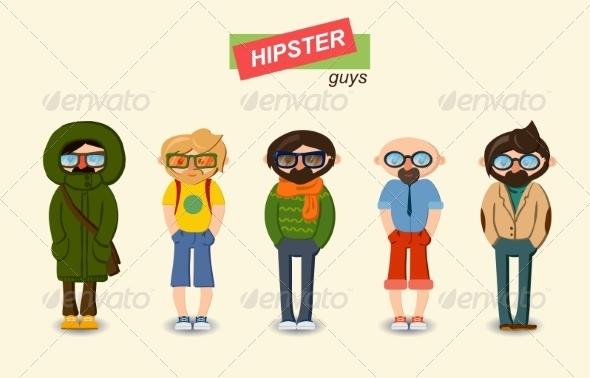 Guys Set - People Characters
