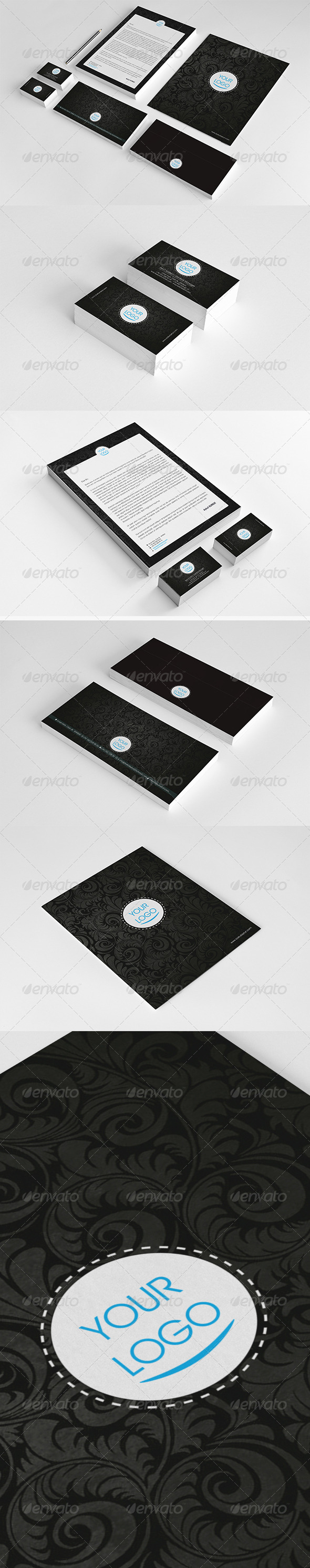 Colin Corporate Identity Package  - Stationery Print Templates