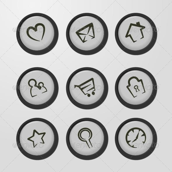 Web Icons - Web Technology