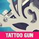 Tattoo Gun Illustration - GraphicRiver Item for Sale