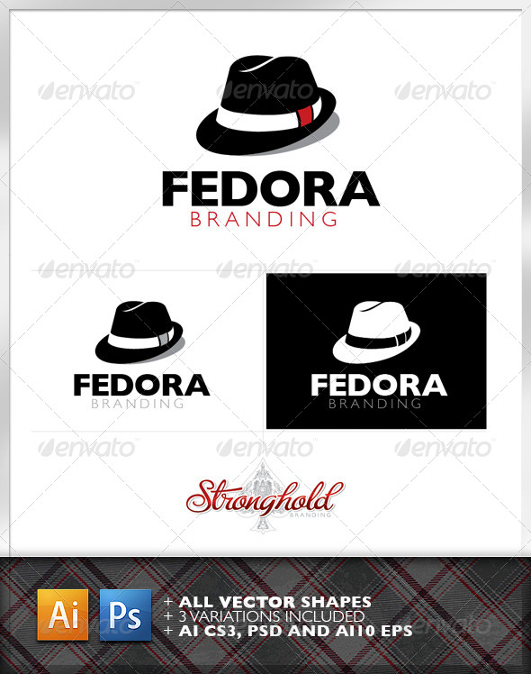 Fedora Logo Brand Template  - Logo Templates