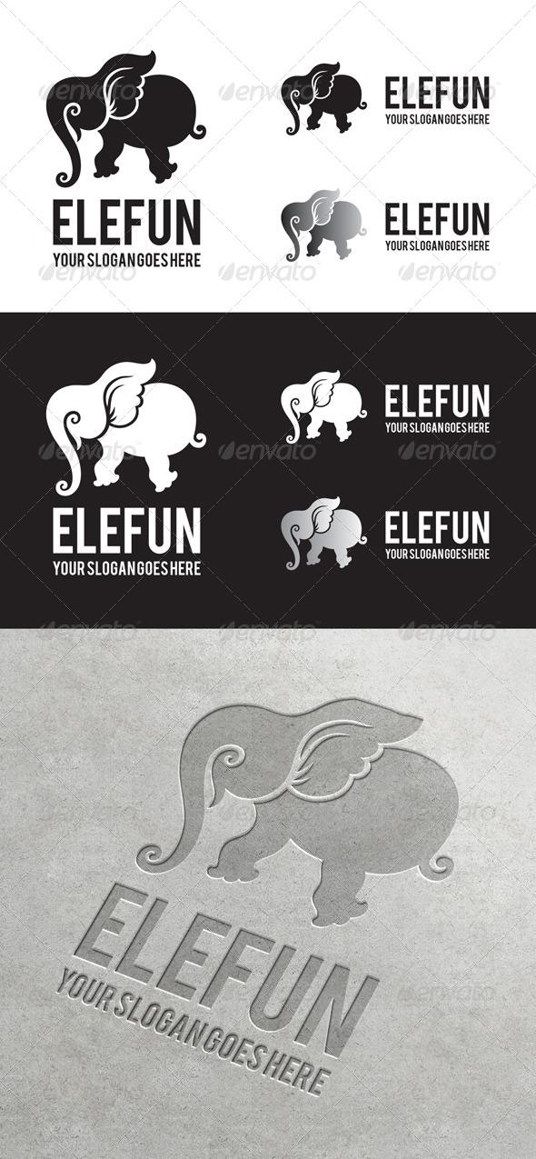 Elefun Logo - Animals Logo Templates