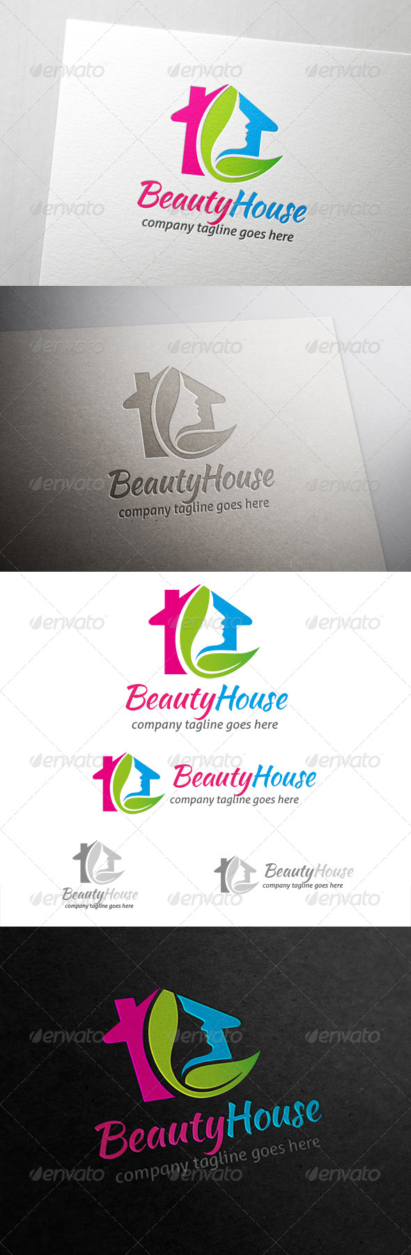 House Logo - Humans Logo Templates