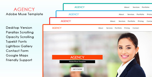 Agency Muse Template