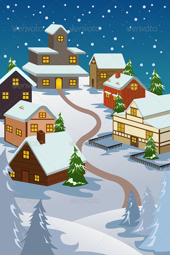 Winter Village - Christmas Seasons/Holidays