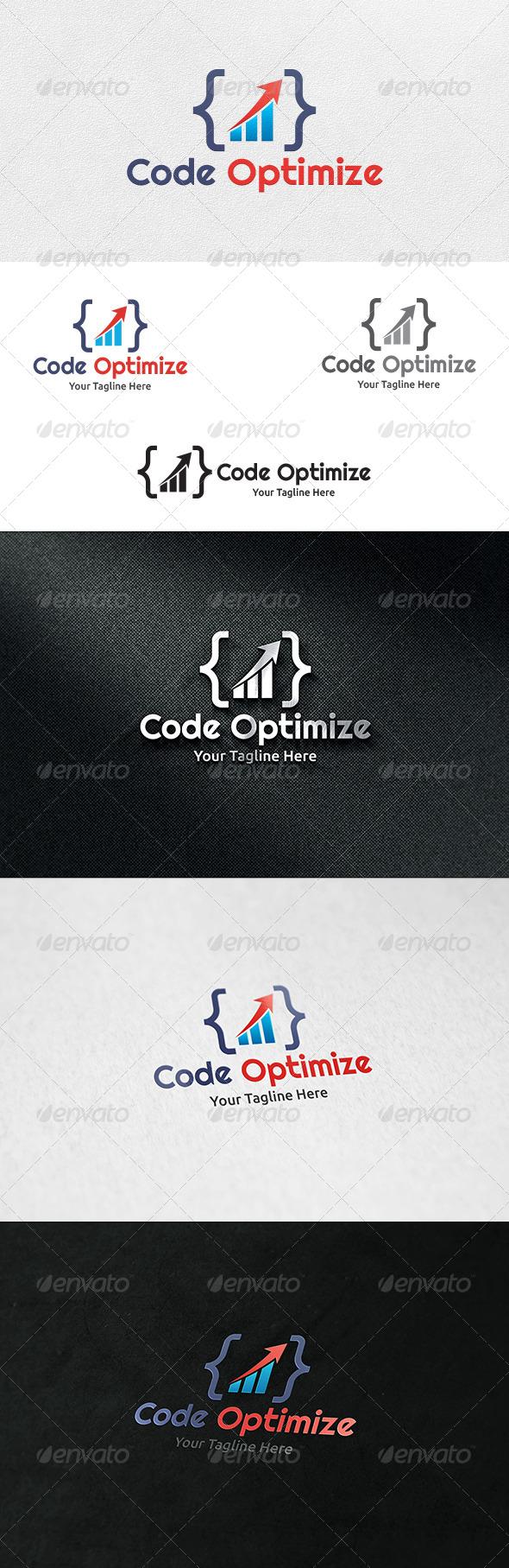 Code Optimize - Logo Template - Symbols Logo Templates