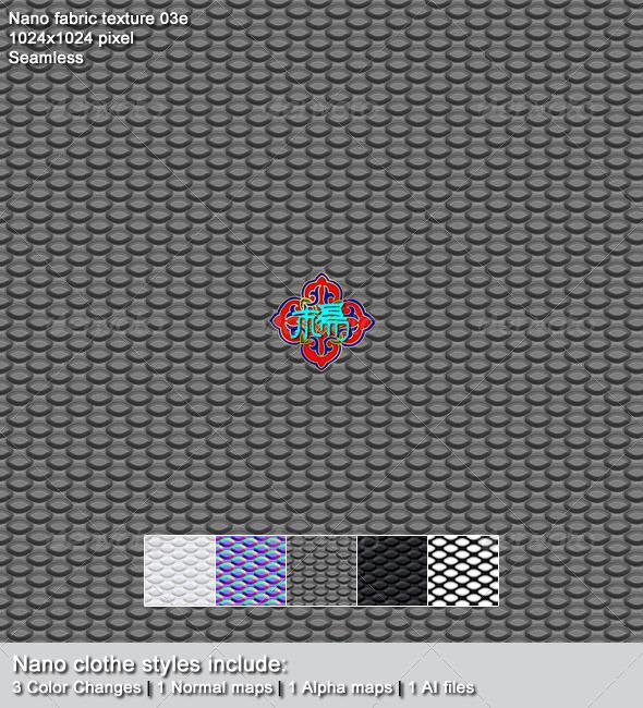 Nano fabric texture 03e - 3DOcean Item for Sale