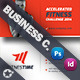 Fitness Business Card Template - GraphicRiver Item for Sale