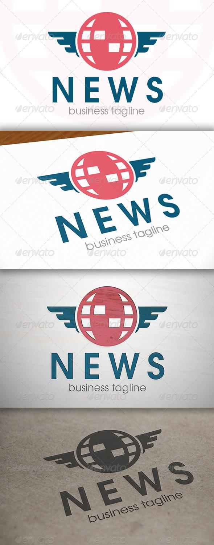 News Logo - Vector Abstract