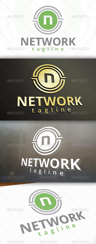 Network Logo - Letters Logo Templates