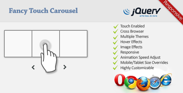 Fancy Touch Carousel - CodeCanyon Item for Sale