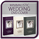 Minimalistic Wedding DVD Cover v.2 - GraphicRiver Item for Sale