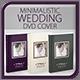 Minimalistic Wedding DVD Cover v.2 - GraphicRiver Item for Sale