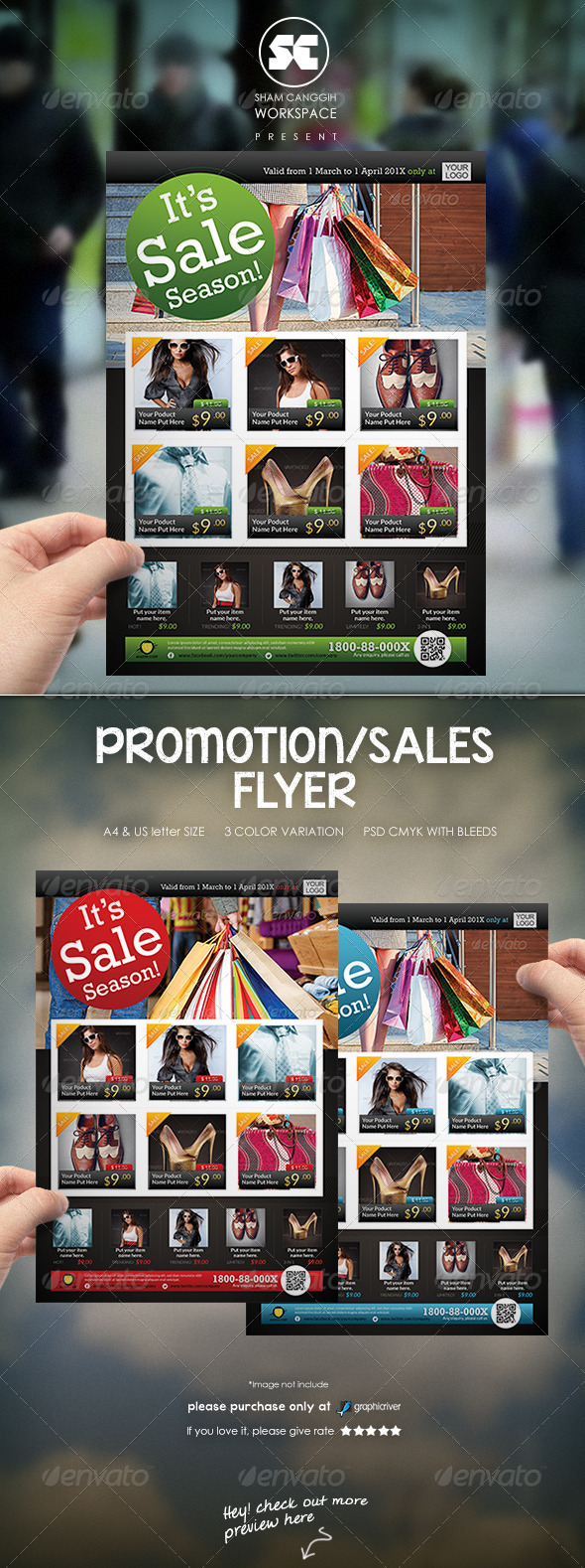 Sales & Promotion Flyer/Magazine Ads - Flyers Print Templates