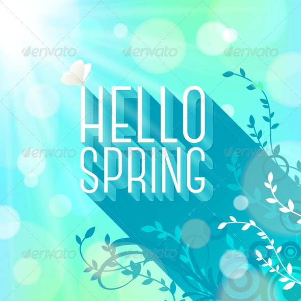 Spring Greeting - Seasons Nature