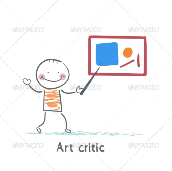 Art Critic Tells About the Picture - People Characters