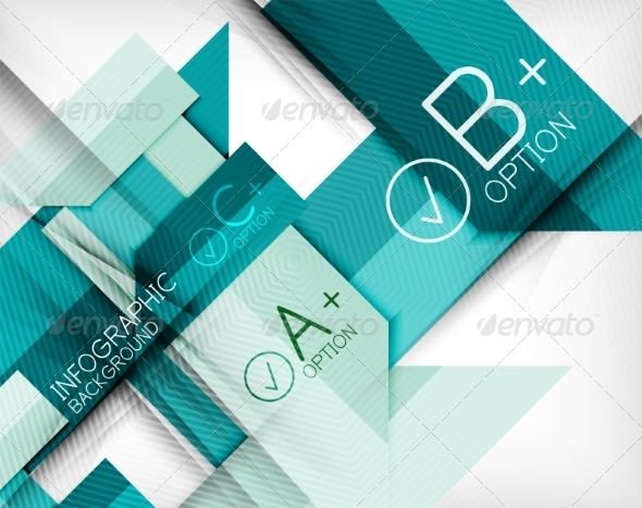 Business Presentation Stripes Abstract Background - Miscellaneous Vectors