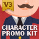 Character Promo Kit - VideoHive Item for Sale
